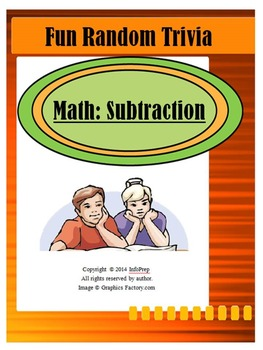 Subtraction: 50 Fun Random Trivia Questions!