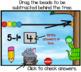 Subtraction Fun with Beads Promethean Board Flip Chart