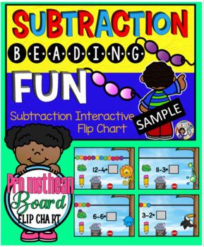 Subtraction Fun with Beads Promethean Board Flip Chart Sample