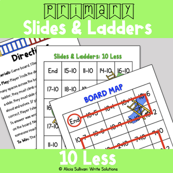 Subtraction Game: 10 Less