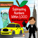 3rd Grade Subtraction Within 1,000 Game {2.NBT.7, 3.NBT.2}