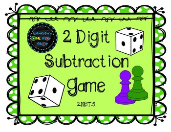 2 Digit Subtraction with Regrouping Game