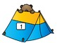 Subtraction Game- Camping Theme