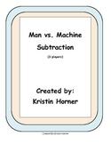 Subtraction Game: Man vs. Machine