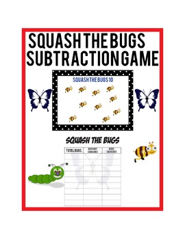 Subtraction Game: Squash the Bugs
