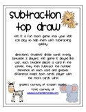 Subtraction Game: Top Draw
