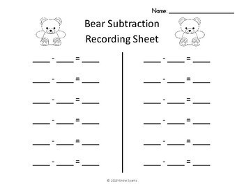 Subtraction Game with Counting Bears