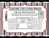 Three-Digit Subtraction Game or Center Activity