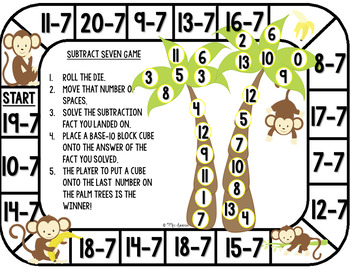 Subtraction Game Boards