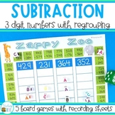 Three Digit Subtraction with Regrouping