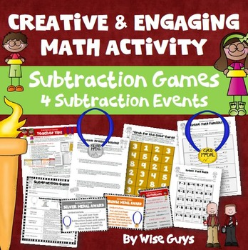 Subtraction Games: Four Creative Events