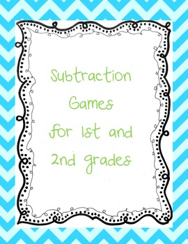 Subtraction Games & Math Centers