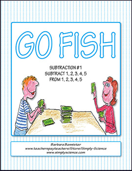 Subtraction Go Fish 1
