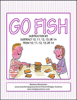 Subtraction Go Fish 3