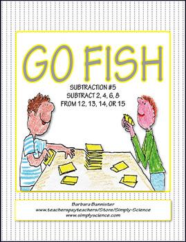 Subtraction Go Fish 5