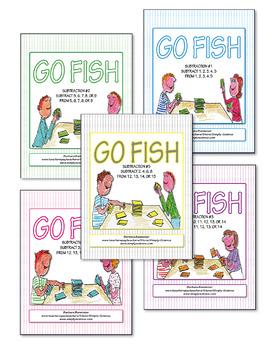 Subtraction Go Fish ♥BUNDLE♥