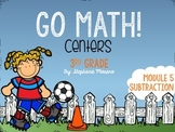 Subtraction Go Math Module 5 Third Grade Centers