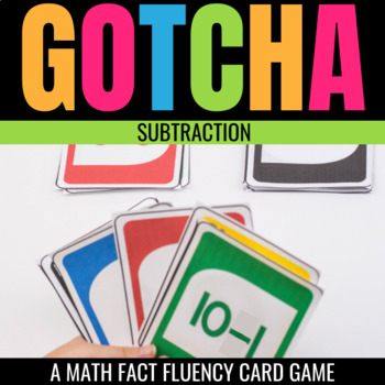 Subtraction Gotcha: A Math Fact Fluency Game for the Classroom