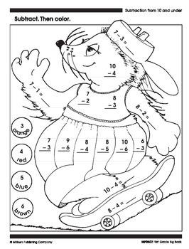 Subtraction (CCSS 1.OA.B.4)