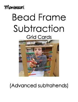 Montessori Bead Frame (Subtraction)
