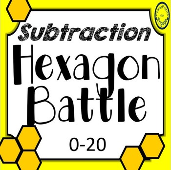 Subtraction Hexagon Battle 0-20