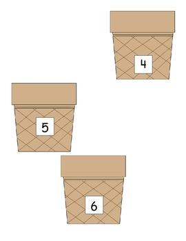Subtraction: Ice cream game