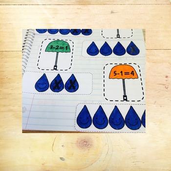 Subtraction - Interactive Notebook