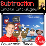Subtraction Interactive Powerpoint Math Game First Grade Edition