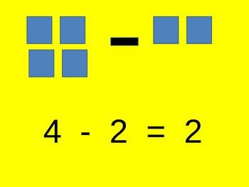Subtraction Introduction Using Shapes for Visual Learners