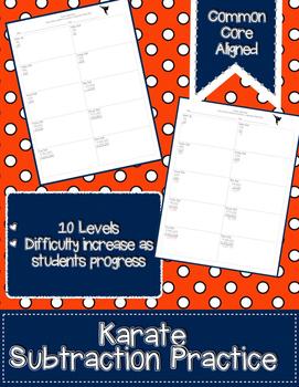 Subtraction Karate