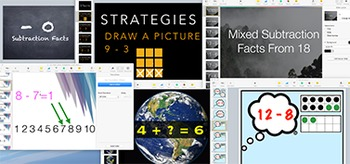 Subtraction Keynotes Bundle: 15 Keynotes (each with 30-50 slides narrated)