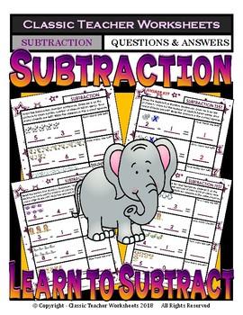 Subtraction - Learn to Subtract - Take Away - Kindergarten