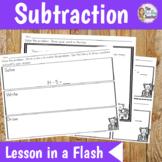 Math Lesson Plan Subtraction