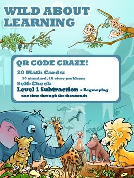 Subtraction Level 01 - QR Codes