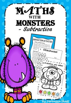Subtraction Level 1 Part 2 - Worksheets and Activities