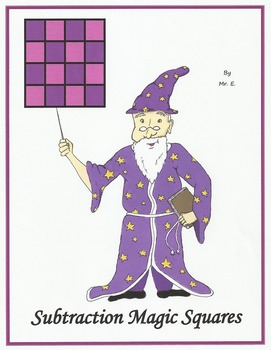 Subtraction Magic Squares