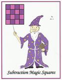 Subtraction Magic Squares