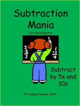 Subtraction Mania for Kindergarten