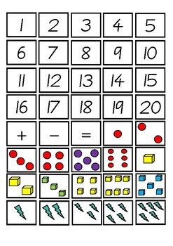 Subtraction Mastery File