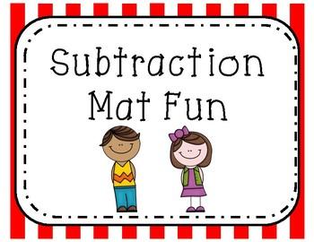 Subtraction Mat Fun
