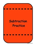 Subtraction Match the Picture