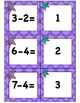 Subtraction Game Cards [Matching or Go Fish!]