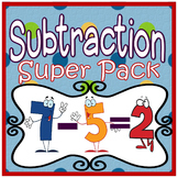 Subtraction: Subtraction Centers, Subtraction Activities & Subtraction Games