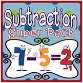 Subtraction: Subtraction Centers, Subtraction Activities &