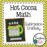 Winter Subtraction Math Craftivity