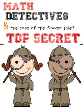 Subtraction ( Math Detectives the case of the flower thief!)