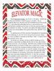 Subtraction Math & ELA Activity & Station: Elevator Magic