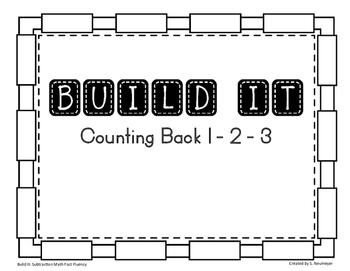 Subtraction Math Fact Fluency: Build It