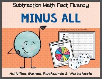 Subtraction Math Fact Fluency: Minus Itself