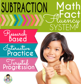 Subtraction Math Fact Fluency System